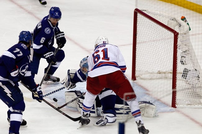 New York Rangers vs. Tampa Bay Lightning - 5/29/15 NHL Pick, Odds, and Prediction