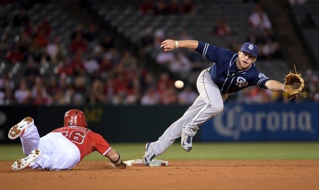 Padres at Angels - 5/27/15 MLB Pick, Odds, and Prediction