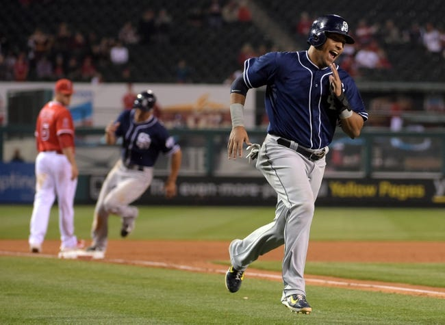 Los Angeles Angels vs. San Diego Padres - 5/27/15 MLB Pick, Odds, and Prediction