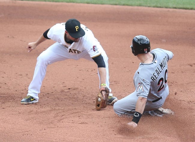 Miami Marlins vs. Pittsburgh Pirates - 8/24/15 MLB Pick, Odds, and Prediction