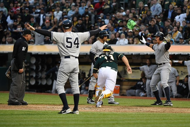 MLB | New York Yankees (25-23) at Oakland Athletics (18-32)
