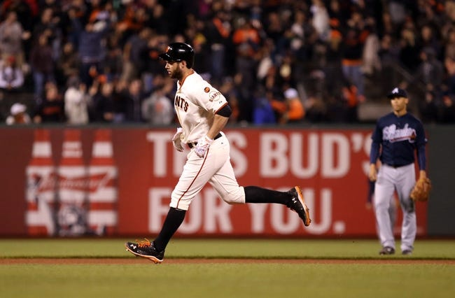 San Francisco Giants vs. Atlanta Braves - 5/29/15 MLB Pick, Odds, and Prediction