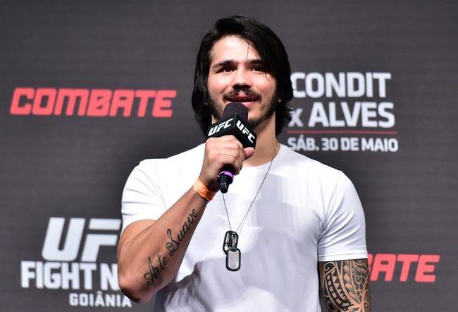 Neil Magny vs. Erick Silva MMA Pick, Preview, Odds, Prediction - 8/23/15
