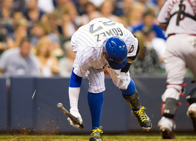 Brewers vs. Diamondbacks - 5/30/15 MLB Pick, Odds, and Prediction