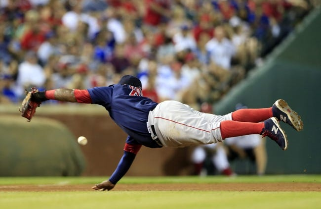 Texas Rangers vs. Boston Red Sox - 5/30/15 MLB Pick, Odds, and Prediction