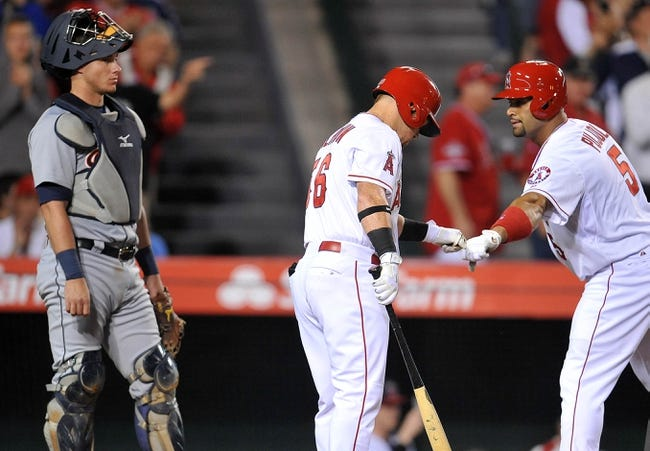 Los Angeles Angels vs. Detroit Tigers - 5/30/15 MLB Pick, Odds, and Prediction