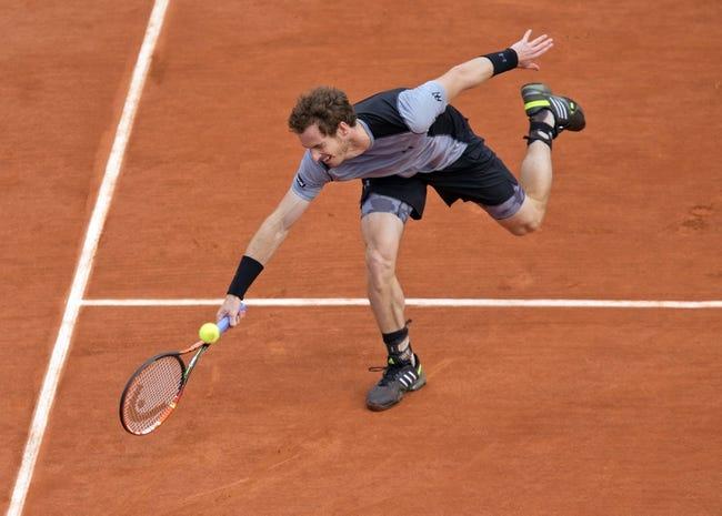 Andy Murray vs. Jeremy Chardy 2015 French Open, Pick, Odds, Prediction