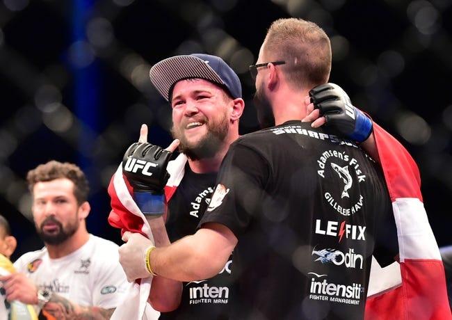 Nicolas Dalby vs. Darren Till UFC Pick, Preview, Odds, Prediction - 10/24/15