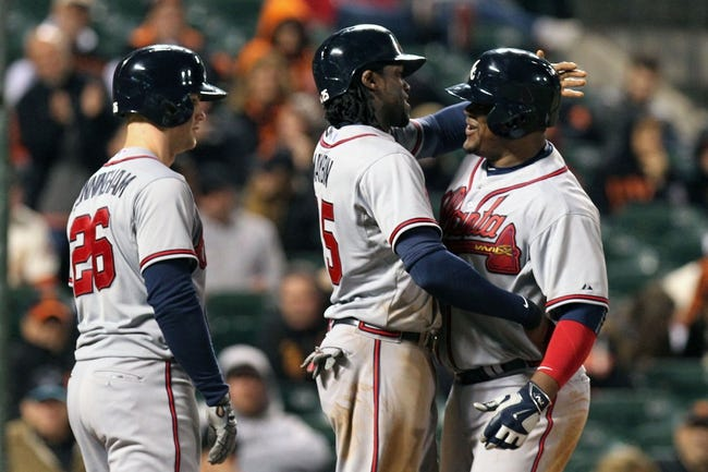Giants vs. Braves - 5/31/15 MLB Pick, Odds, and Prediction