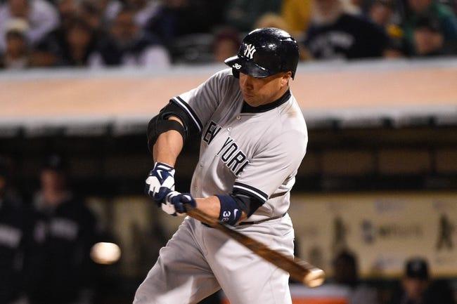 Athletics vs. Yankees - 5/31/15 MLB Pick, Odds, and Prediction