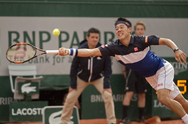 Andrey Kuznetsov vs. Kei Nishikori 2016 French Open Pick, Odds, Prediction