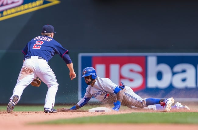 Blue Jays vs. Twins - 8/3/15 MLB Pick, Odds, and Prediction