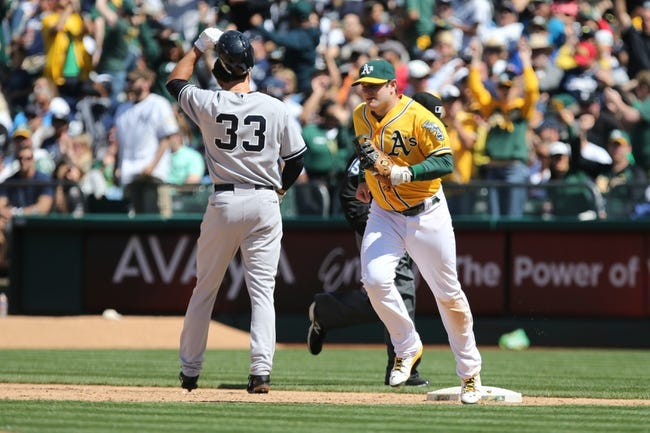 Yankees vs. Athletics - 7/7/15 MLB Pick, Odds, and Prediction