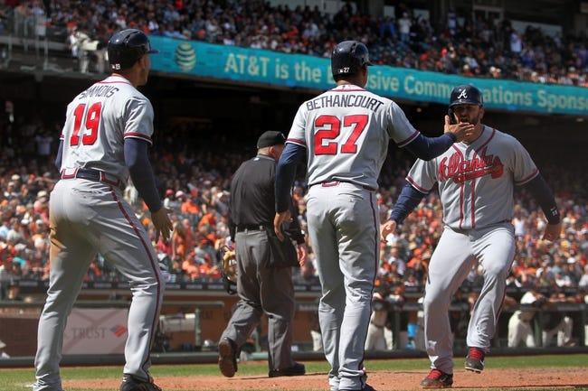 Atlanta Braves vs. San Francisco Giants - 8/3/15 MLB Pick, Odds, and Prediction