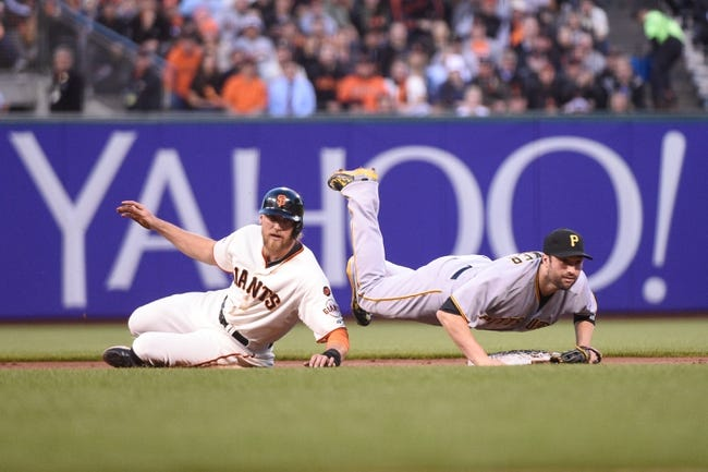 San Francisco Giants vs. Pittsburgh Pirates - 6/2/15 MLB Pick, Odds, and Prediction