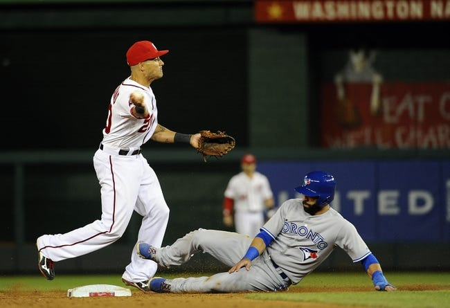 Nationals vs. Blue Jays - 6/3/15 MLB Pick, Odds, and Prediction