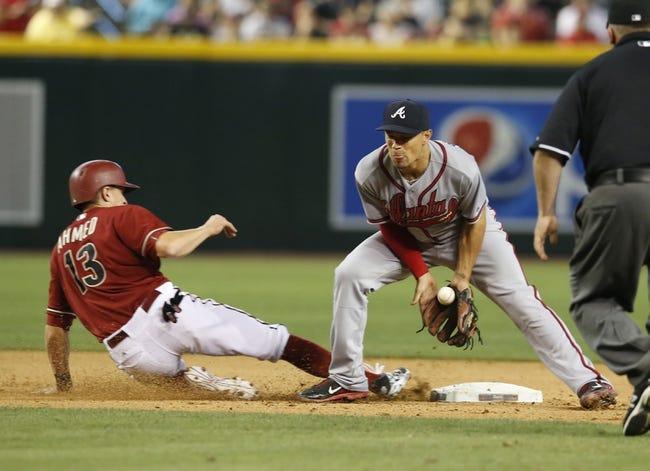 Diamondbacks at Braves - 8/14/15 MLB Pick, Odds, and Prediction