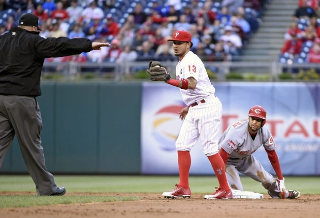 Phillies vs. Reds - 6/4/15 MLB Pick, Odds, and Prediction