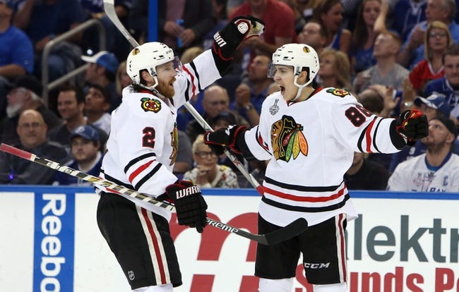 Blackhawks at Lightning - 6/6/15 Game Two Pick, Odds, and Prediction