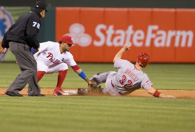 Reds vs. Phillies - 6/8/15 MLB Pick, Odds, and Prediction
