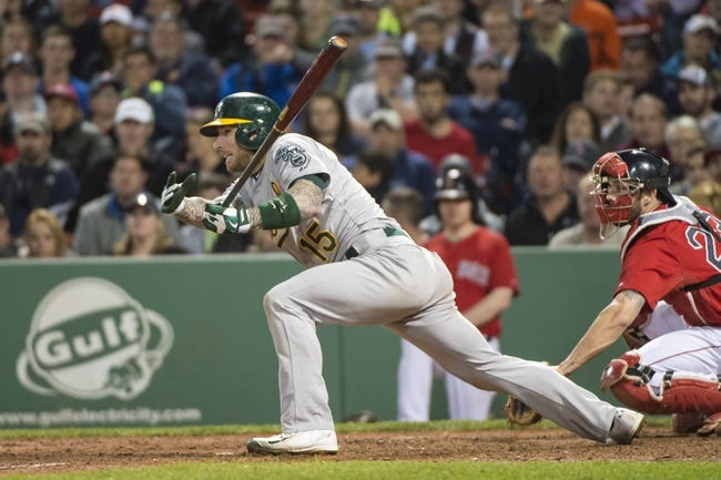 Boston Red Sox vs. Oakland Athletics - 6/6/15 MLB Pick, Odds, and Prediction