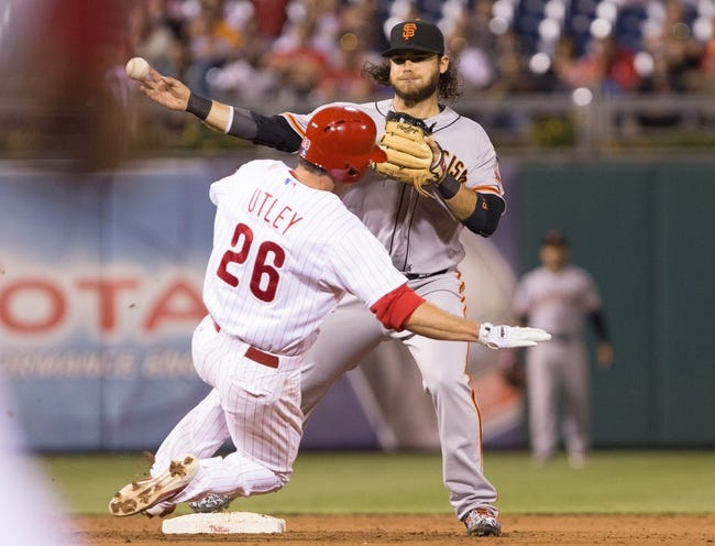Philadelphia Phillies vs. San Francisco Giants - 6/6/15 MLB Pick, Odds, and Prediction