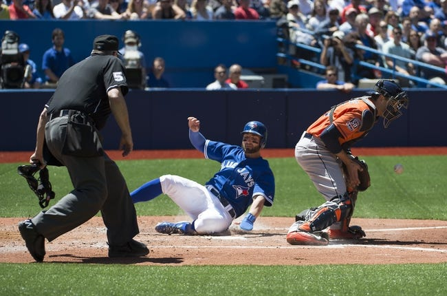 Blue Jays vs. Astros - 6/7/15 MLB Pick, Odds, and Prediction