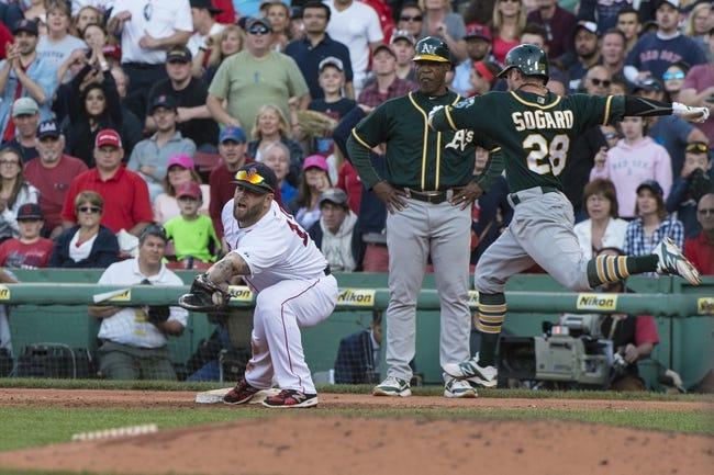 Boston Red Sox vs. Oakland Athletics - 5/9/16 MLB Pick, Odds, and Prediction