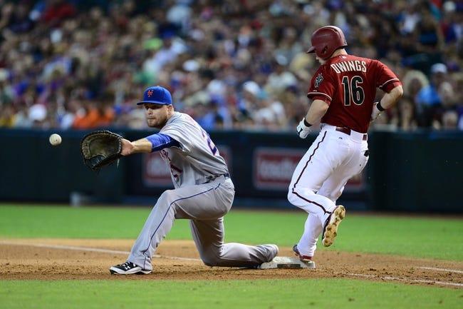 New York Mets vs. Arizona Diamondbacks - 7/10/15 MLB Pick, Odds, and Prediction