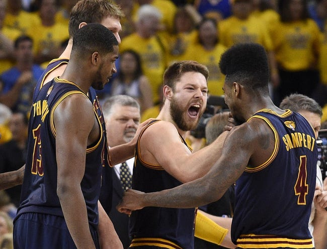 Cleveland Cavaliers vs. Golden State Warriors - 6/9/15 NBA Pick, Odds, and Prediction