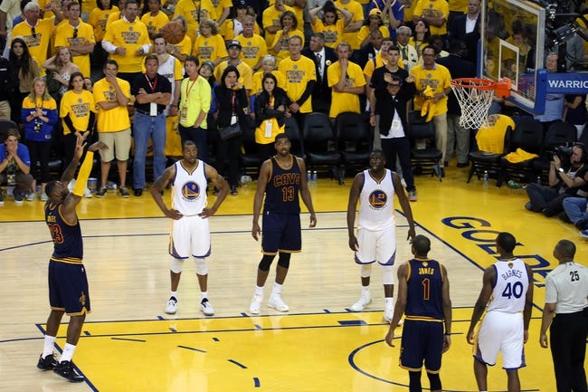 Golden State Warriors at Cleveland Cavaliers Game Three - 6/9/15 NBA Pick, Odds, and Prediction