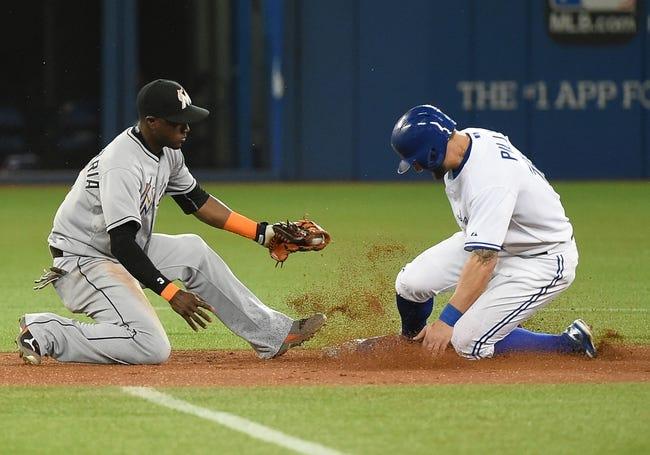 Blue Jays vs. Marlins - 6/9/15 MLB Pick, Odds, and Prediction