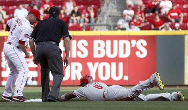 Cincinnati Reds vs. Philadelphia Phillies - 6/9/15 MLB Pick, Odds, and Prediction