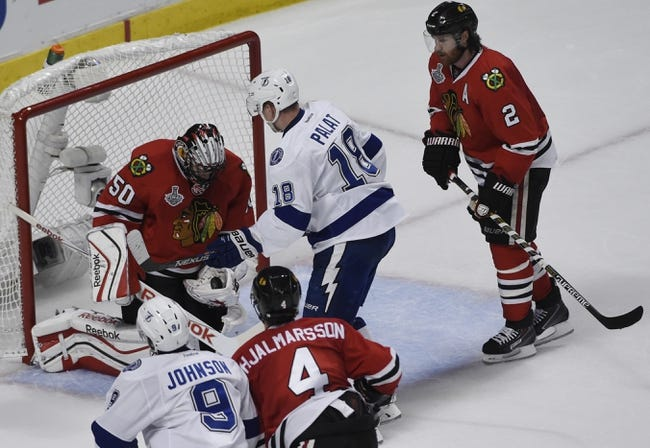 Tampa Bay Lightning at Chicago Blackhawks- 6/10/15 NHL Pick, Odds, and Prediction