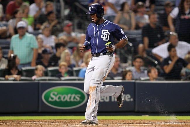 Atlanta Braves vs. San Diego Padres - 6/9/15 MLB Pick, Odds, and Prediction