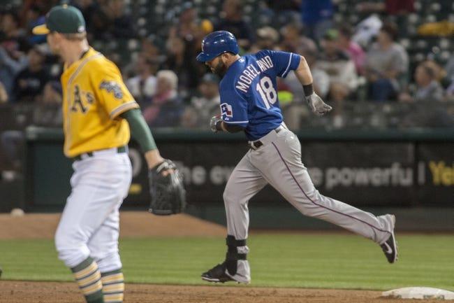 Oakland Athletics vs. Texas Rangers - 6/10/15 MLB Pick, Odds, and Prediction