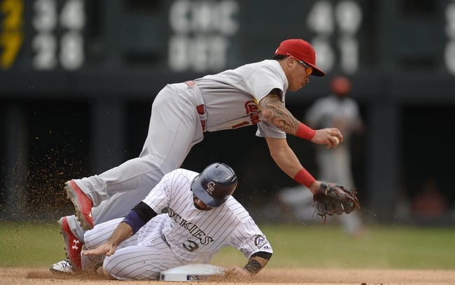 St. Louis Cardinals vs. Colorado Rockies - 7/30/15 MLB Pick, Odds, and Prediction