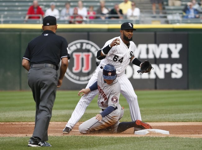 Astros at White Sox - 5/17/16 MLB Pick, Odds, and Prediction