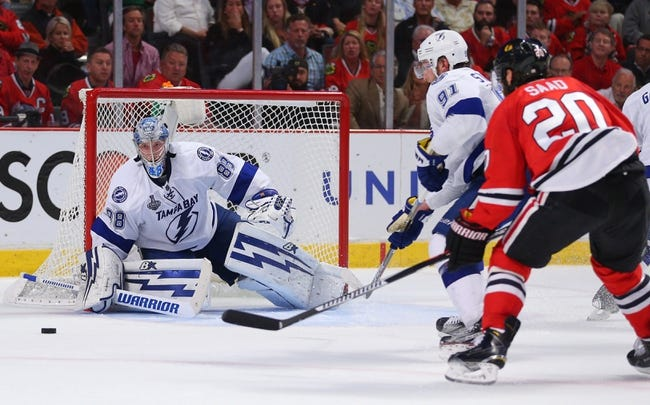 Blackhawks at Lightning - 6/13/15 Game Five Pick, Odds, and Prediction