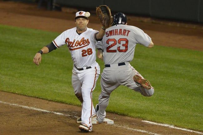 Boston Red Sox vs. Baltimore Orioles - 6/23/15 MLB Pick, Odds, and Prediction