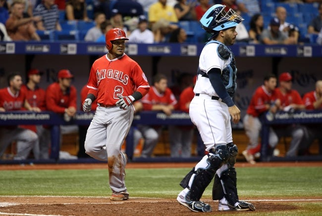 Rays at Angels - 5/6/16 MLB Pick, Odds, and Prediction