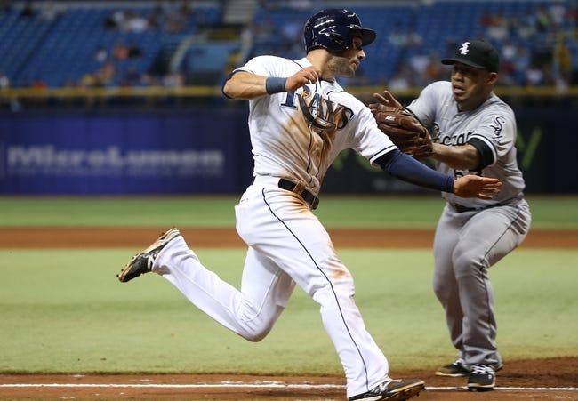 White Sox vs. Rays - 8/3/15 MLB Pick, Odds, and Prediction