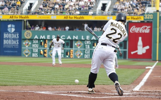 Pirates vs. White Sox - 6/15/15 MLB Pick, Odds, and Prediction