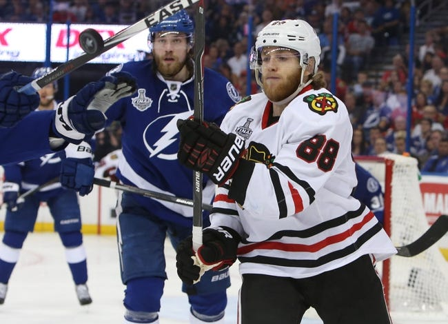 Tampa Bay Lightning at Chicago Blackhawks - 6/15/15 NHL Pick, Odds, and Prediction