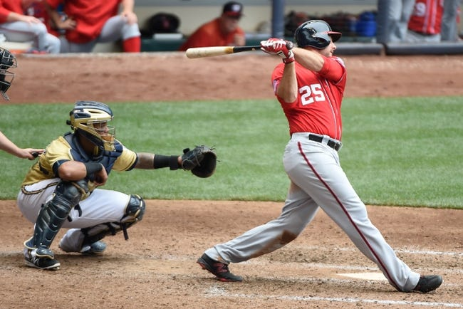 Washington Nationals vs. Milwaukee Brewers - 8/23/15 MLB Pick, Odds, and Prediction