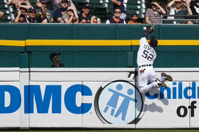 Cleveland Indians vs. Detroit Tigers - 6/22/15 MLB Pick, Odds, and Prediction