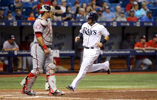 Rays vs. Nationals - 6/16/15 MLB Pick, Odds, and Prediction