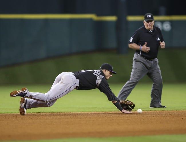 Colorado Rockies vs. Houston Astros - 6/17/15 MLB Pick, Odds, and Prediction