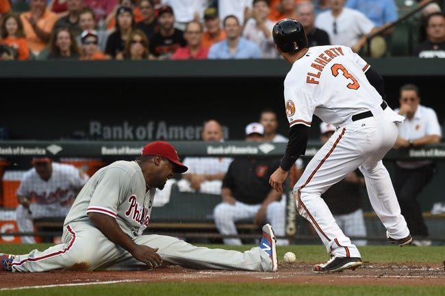 Phillies vs. Orioles - 6/17/15 MLB Pick, Odds, and Prediction