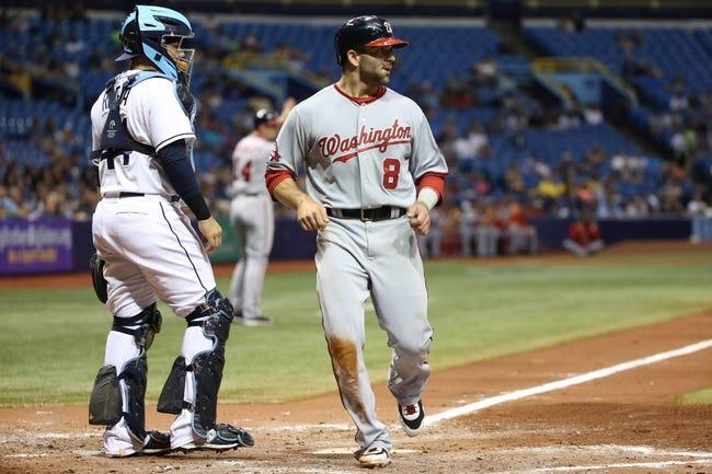 Washington Nationals vs. Tampa Bay Rays - 6/17/15 MLB Pick, Odds, and Prediction